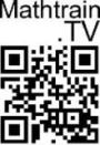 Mathtrain.TV QR Code Microcard